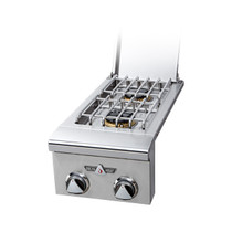 Delta Heat Built-In Double Side Burner, (L/N)