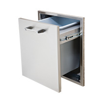 Delta Heat 18 inch Tall Trash Drawer (Trash Can Included)