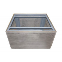 Firegear Assemble and Finish Square Fire Pit Enclosure, 48-inch