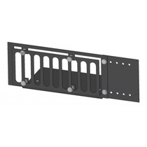 Firegear Stainless Steel Paver Vent Kit with Mounting Plate and Lintel, 3.625x8-inches