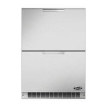 DCS 24 Inch Double Refrigerator Drawers