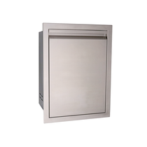 RCS Valiant Stainless Trash Drawer-Fully Enclosed