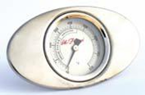 Cal Flame Replacement Thermometer and Bezel
