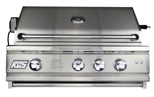 """RCS 30"""" (Inch) Cutlass Pro Series Grill, Blue LED with Rear Burner - RON30a"""