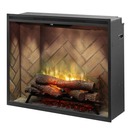 """Dimplex Revillusion™ 36"""" Portrait Built-in Firebox Electric Fireplace"""