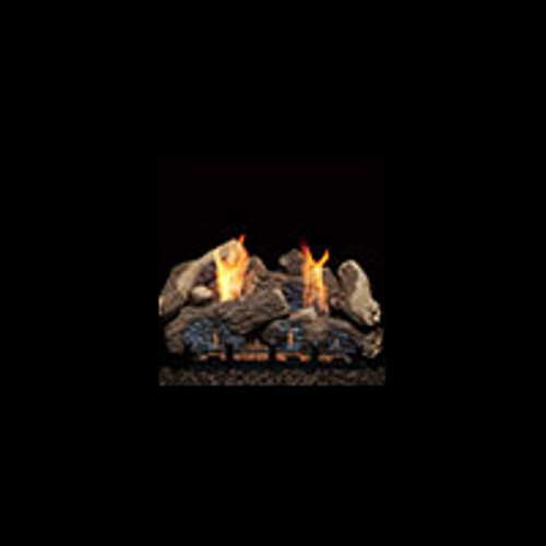 Monessen BO24-R Berkley Oak Refractory Log Set For Natural Blaze