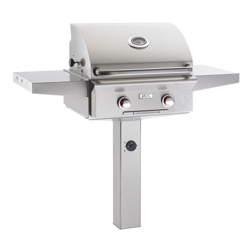 AOG 24-Inch T-Series 2-Burner Freestanding Gas Grill On In-Ground Post-24GT