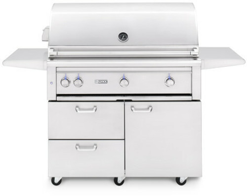 """Lynx 42"""" Freestanding Grills- 1 Trident with Rotisserie (L42TRF)"""