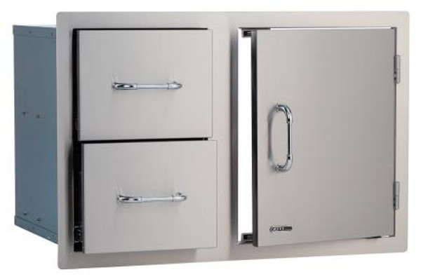 "Bull BBQ 30"" Door Drawer Combo"