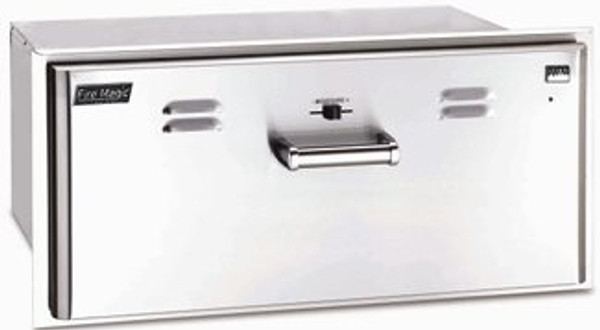 Fire Magic Echelon FLUSH MOUNT Warming Drawer