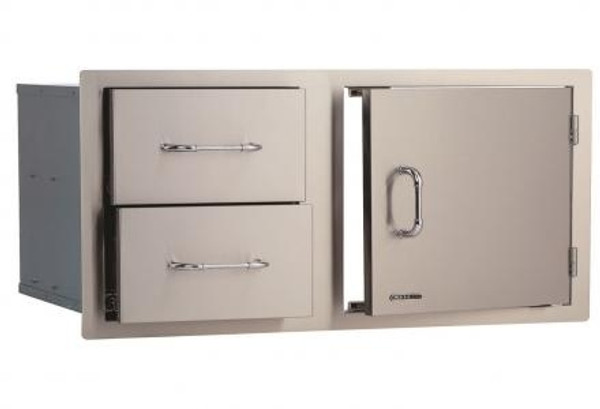 "Bull BBQ 38"" Door Drawer Combo"