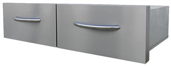 Cal Flame 2 Drawer Horizontal