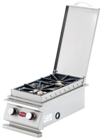 Cal Flame deluxe slide in double side burner