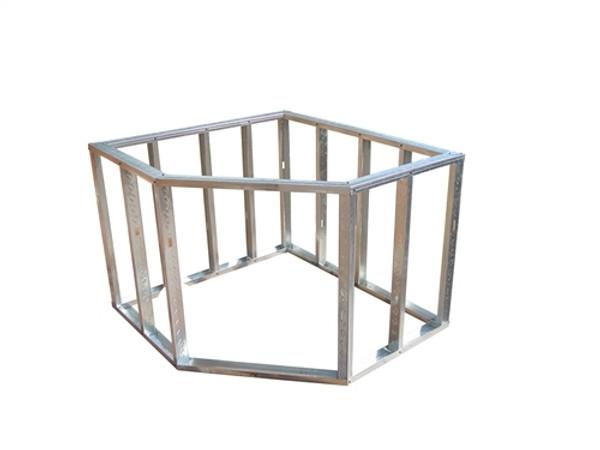 DIY BBQ Diagonal Sink Corner Modular Section