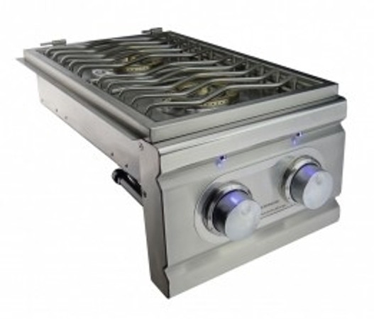 Rcs lighted double side burner