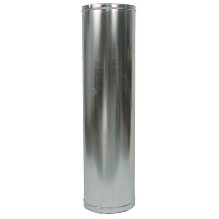 """Fireplace 48-8DM 48"""" Double Wall Pipe"""