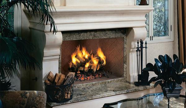 Superior Wood Burning Fireplace