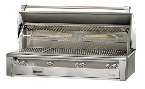 Alfresco ALXE 56-Inch Standard All Grill Built in With Rotisserie
