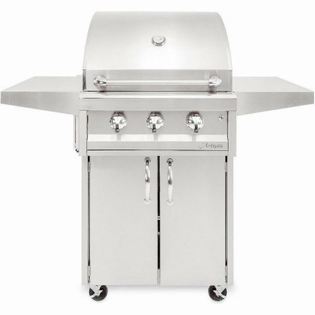 Artisan 3 Burner - No Rotisserie / No Light + Cart (AAEP-32C)