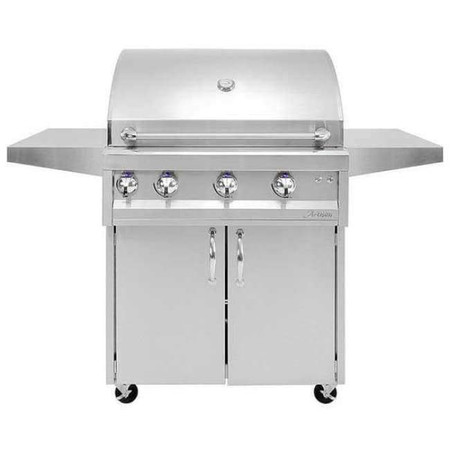 Artisan 3 Burner with Rotisserie & Light + Cart (ARTP-36C)
