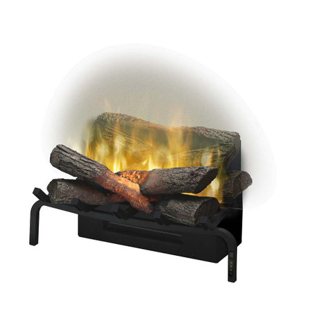 "Dimplex Revillusion™ 20"" Plug-in Electric Log Set Electric Fireplace"