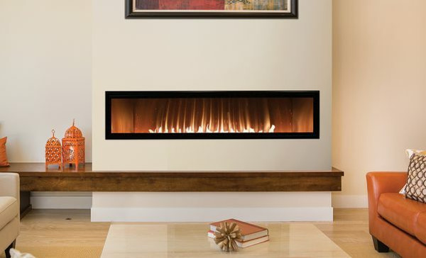 Empire Boulevard 60-inch Vent-Free Linear Fireplace