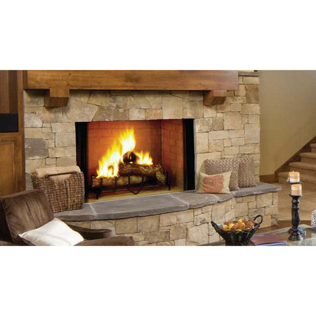 Majestic Biltmore Radiant Wood Burning Fireplace - 50 Inch