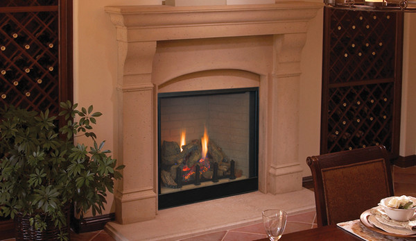 Superior DRT6340TYN 40 Inch Direct Vent Gas Fireplace With Electronic Ignition