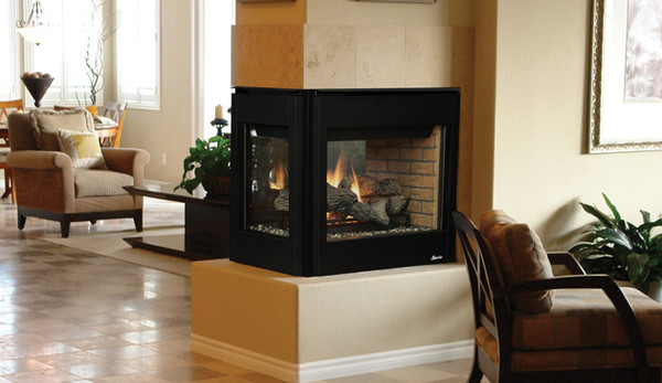 Superior DRF35PFNE 35 Inch Direct Vent Gas Fireplace With Electronic Ignition
