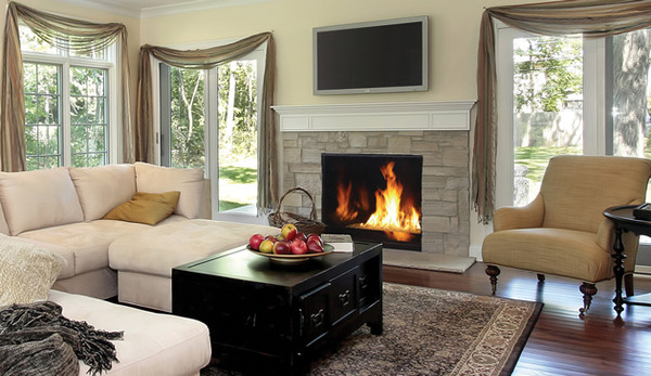 Superior DRC6345TYN 45 Inch Direct Vent Gas Fireplace