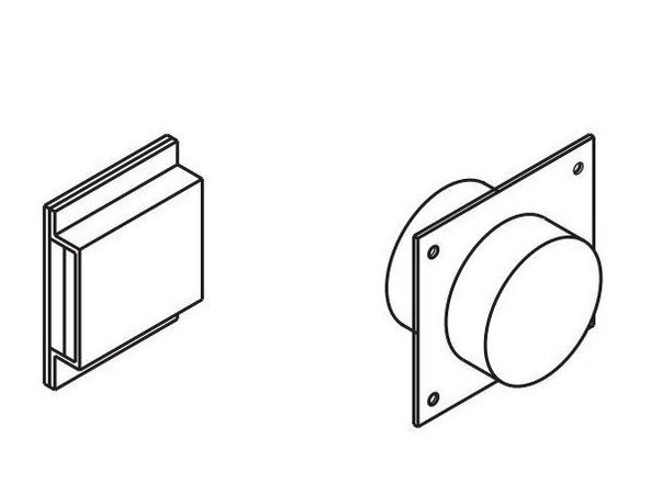 Monessen MAK4 Outside Combustion Air Kit