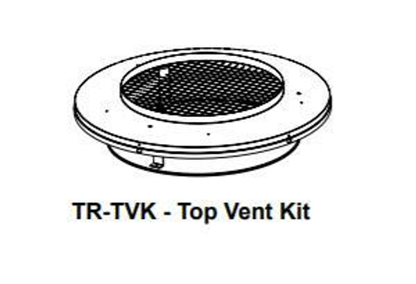 Majestic TR-TVK Round Termination Top Adaptor Kit For Shrouds