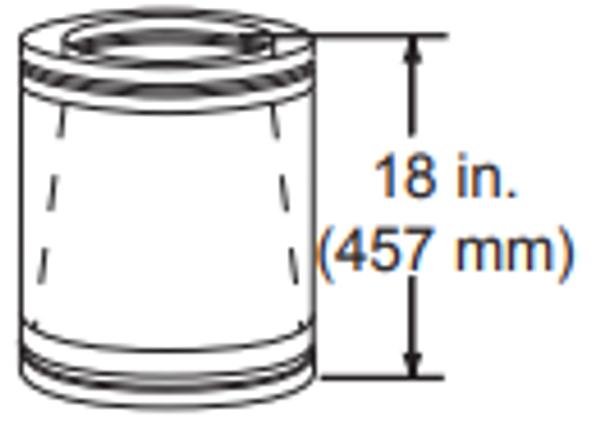 Majestic SLA10 11 Inch To 10 Inch Adapter - 11 Inch Diameter