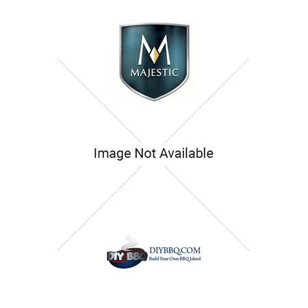 Majestic DV300SD Decorative Black Mesh Glass Cover