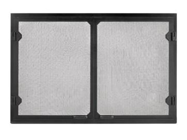 Majestic GV42BK Grand Vista Black Cabinet Style Mesh Doors