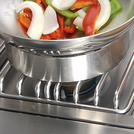 Alfresco Wok Ring Adapter For Alfresco Side Burners