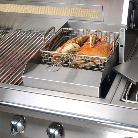Alfresco Grill Mounted Steamer & Fryer-AG-SF