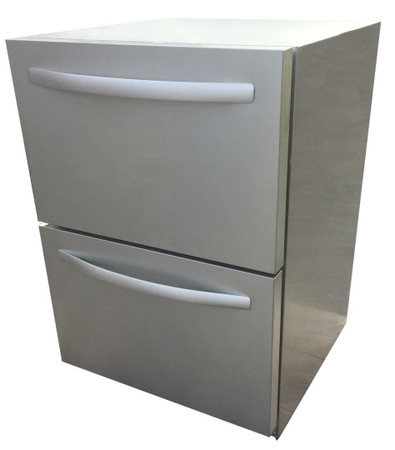 RCS UL Rated Double Drawer Refrigerator