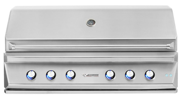 Twin Eagles 54 Inch Outdoor Gas Grill with Infrared Rotisserie and Sear Zone