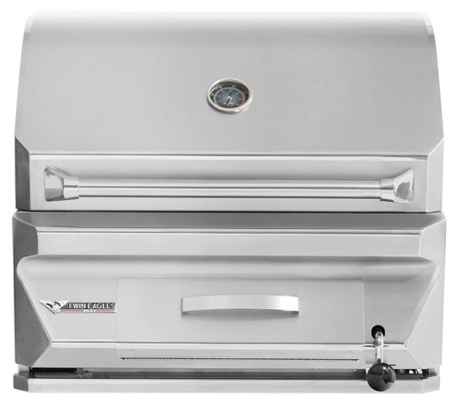 Twin Eagles 30 Inch Charcoal Grill