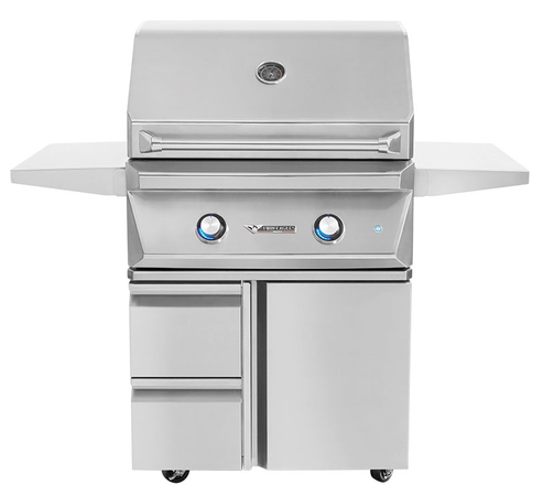 Twin Eagles 30 Inch Grill Base with Storage Drawers, Single Door