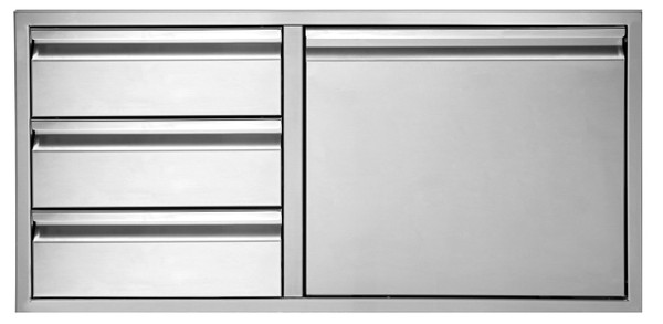 Twin Eagles 30 Inch 3-Drawer-Door Combo