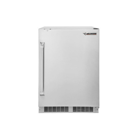 Twin Eagles 24 Inch Outdoor Refrigerator with Lock
