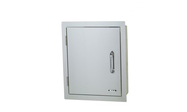 Bull Outdoor Vertical Access Door, Left Swing