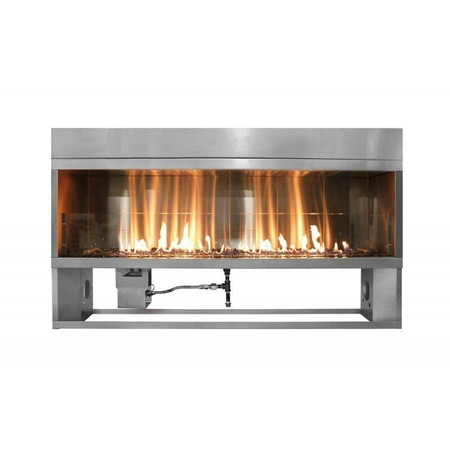 Firegear Kalea Bay Linear Outdoor Fireplace, 36-inch