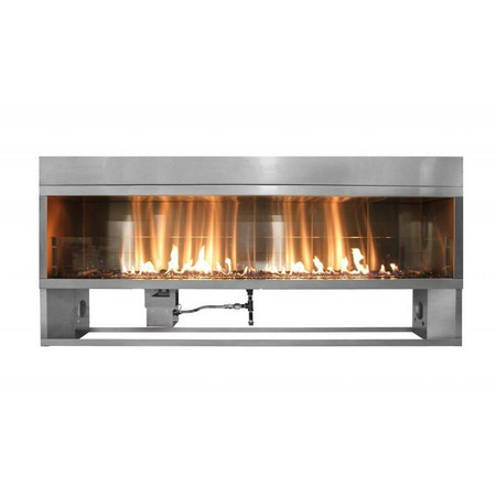 Firegear Kalea Bay Linear Outdoor Fireplace, 60-inch