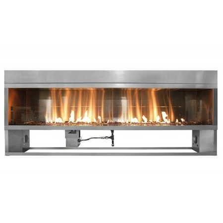 Firegear Kalea Bay Linear Outdoor Fireplace, 72-inch