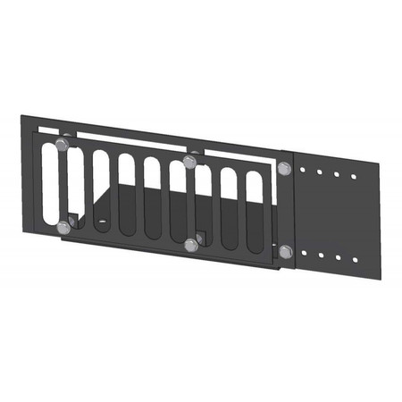 Firegear Paver Vent Kit with Mounting Plate and Lintel, 3.625x8-inches