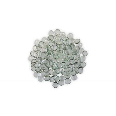 Firegear Pound Fire Glass Beads, 16 to 18mm, Clear