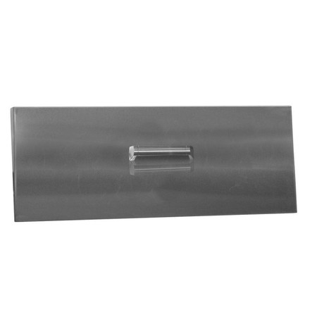 Firegear Stainless Steel Burner Cover with Brushed Finish, Linear, 77.75x8.25-inch